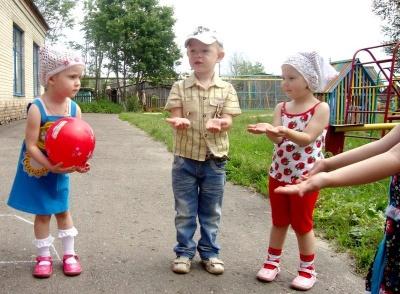 """Детская игра """"Съедобное-несъедобное"""""""