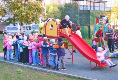 Правила поведения детей на горке игровой площадки