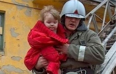 Поведение детей при пожаре дома