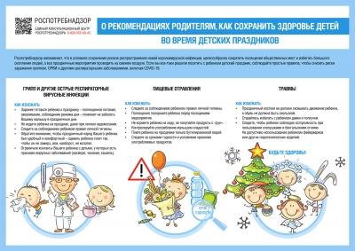 Безопасность детей на праздники