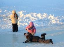 Правила для безопасного поведения детей на льду