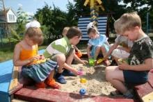 Правила поведения при игре в песочнице